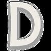 Select D letter