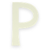 Select P letter
