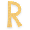 Select R letter