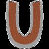 Select U letter